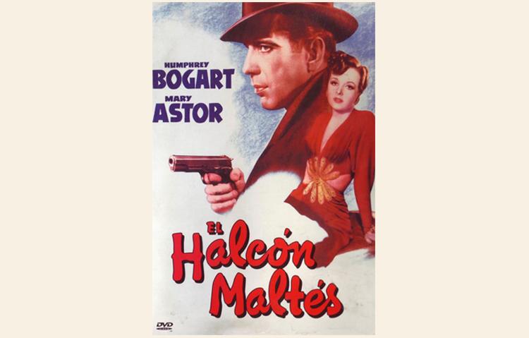 Cartel cine El halcón maltés