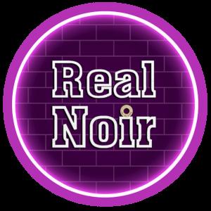Logotipo Editorial de novela negra Real Noir