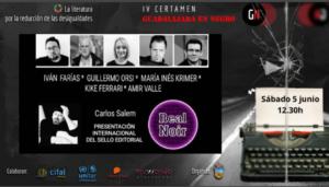 Cartel de Real Noir en Guadalajara Negra