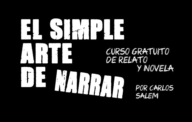 CURSO GRATIS DE NARRATIVA / CLASE 1