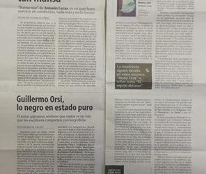 Guillermo Orsi y la prensa