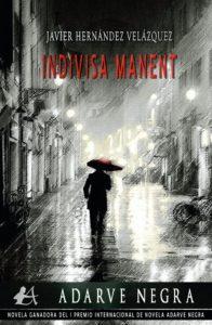Portada de la novela ganasdores del I Premio Adarve Negra